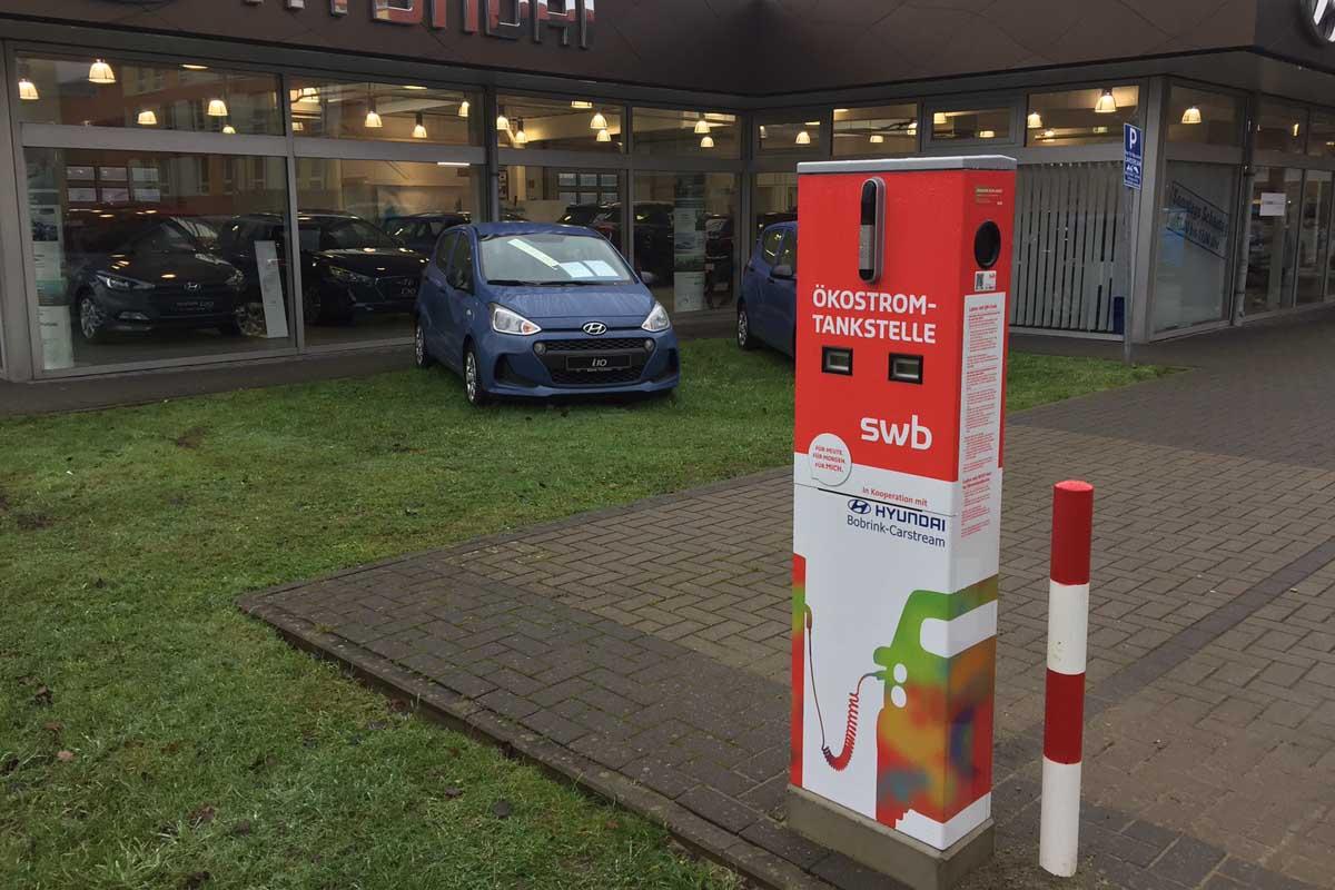 E-Tankstelle im Technologiepark